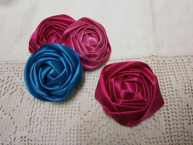 rose per capelli