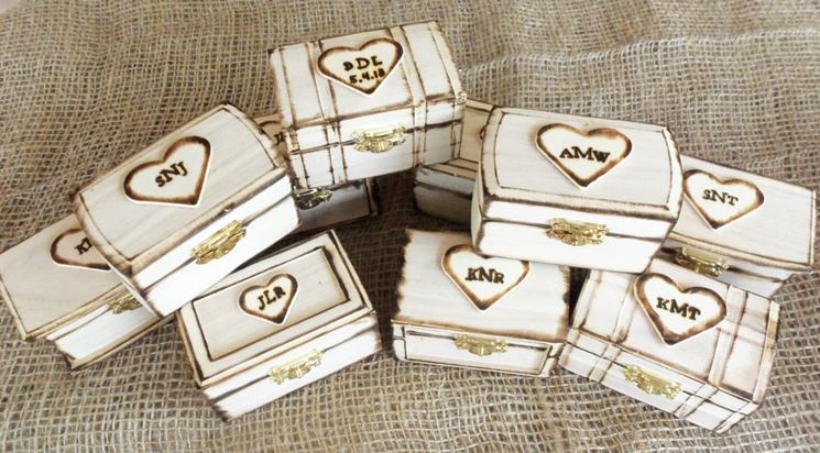 Estremamente Come fare una scatola rustica da bomboniera - Bricolage MO91