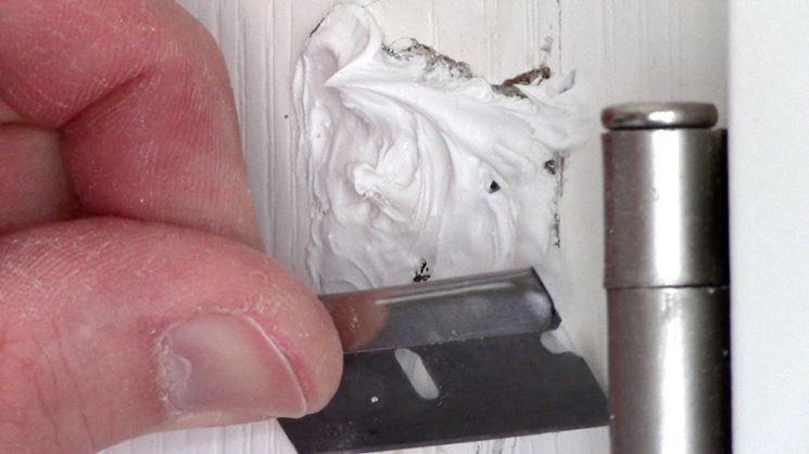 stucco sulla porta