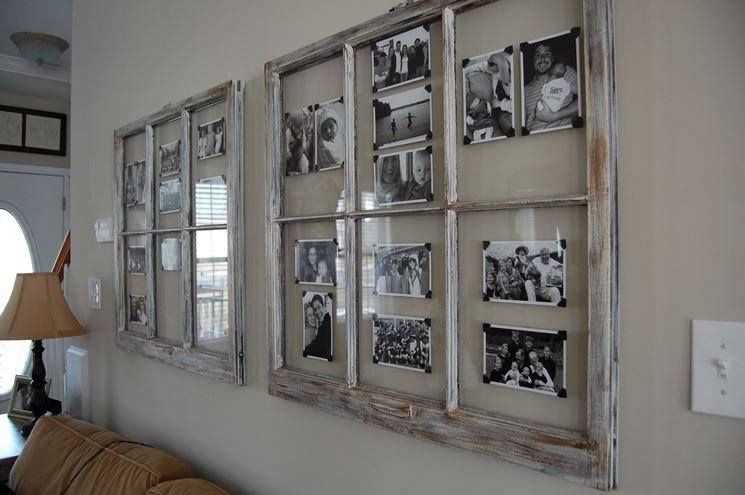cornice con vecchia finestra