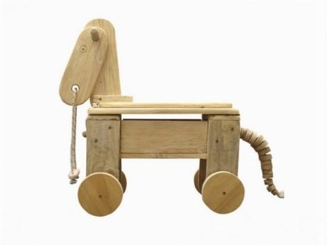 Costruire giocattoli in legno bricolage for Carriola legno fai da te