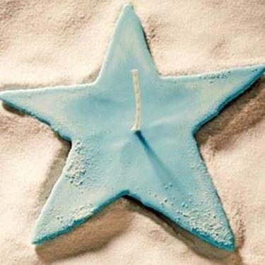 candela a forma di stella
