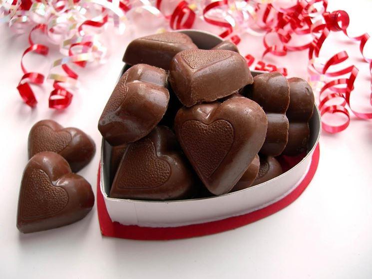 cioccolatini per san valentino