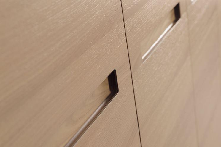 esempio di ante in legno