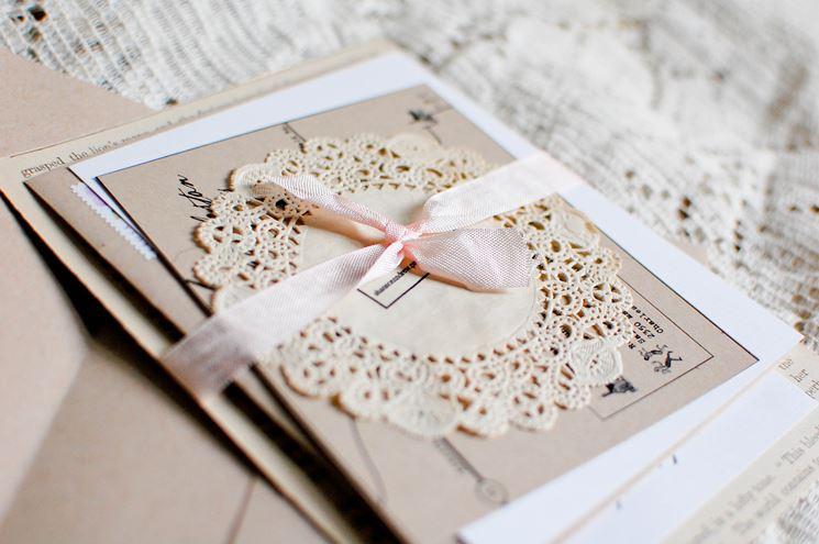 Préférence Partecipazioni matrimonio fai da te - Bricolage TW21