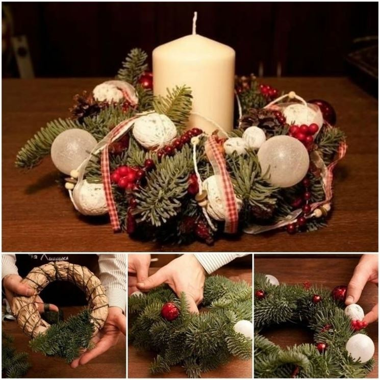 Realizzare un centrotavola natalizio bricolage creare - Bricolage fai da te idee ...