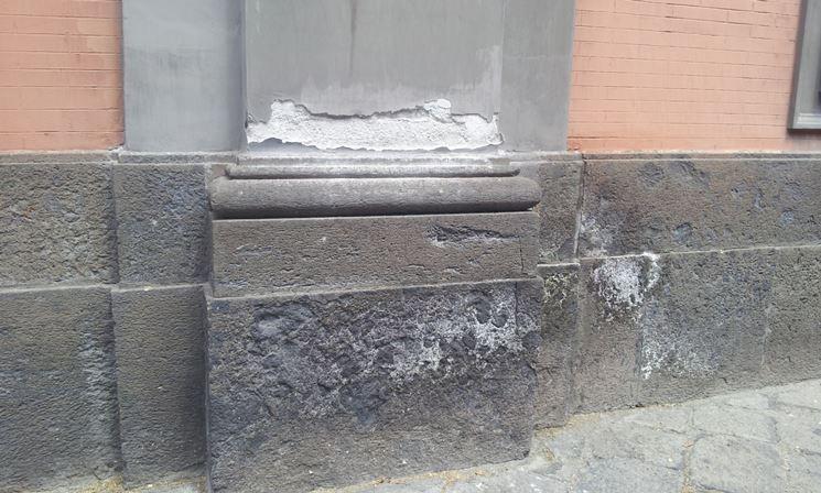 come riparare elementi in pietra