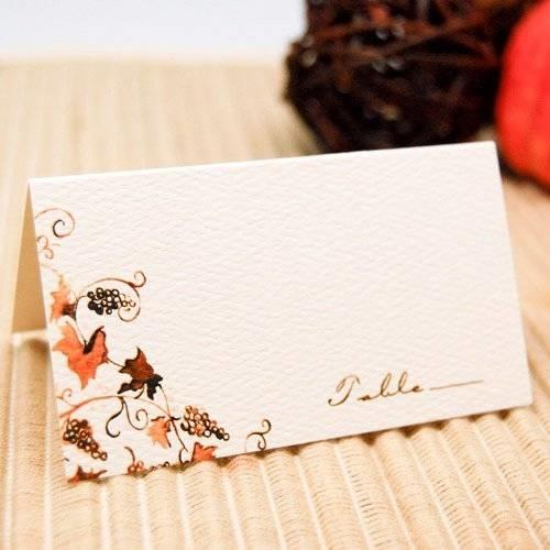 Cartoncini Segnaposto Matrimonio Da Stampare.Segnaposti Elegantissimi Per Matrimonio Bricolage