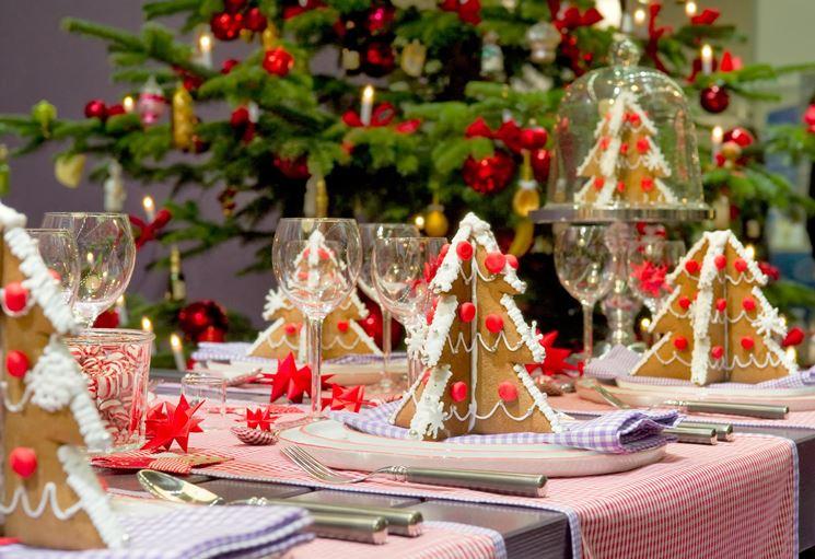 decorazioni natalizie per la tavola