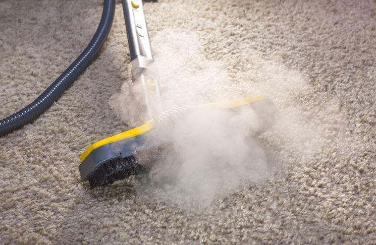 pulire con il vapore