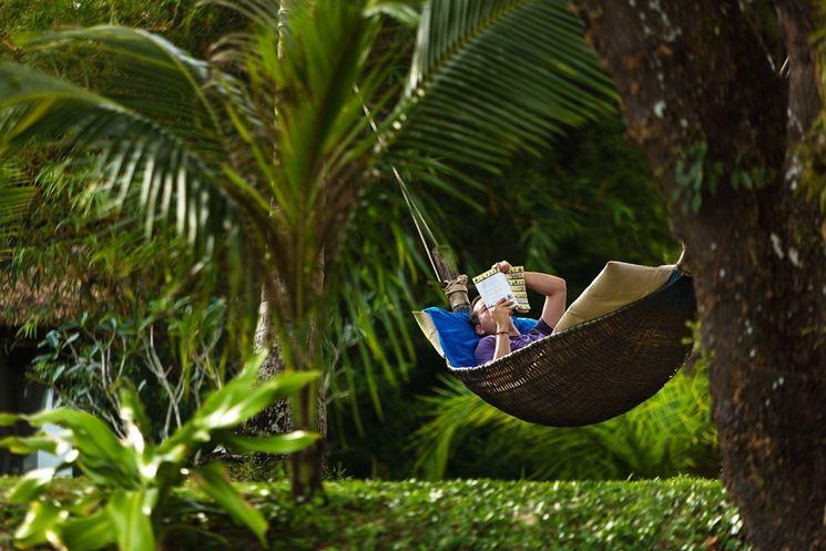 relax in giardino