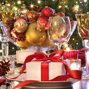 addobbare tavola per Natale