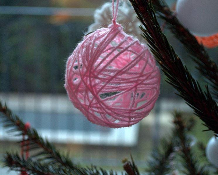 Addobbi per albero di natale fai da te decoupage for Addobbi natalizi fai da te 2016