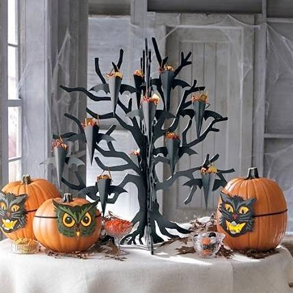 Decorazioni fai da te per halloween decoupage for Decorazioni torte halloween fai da te