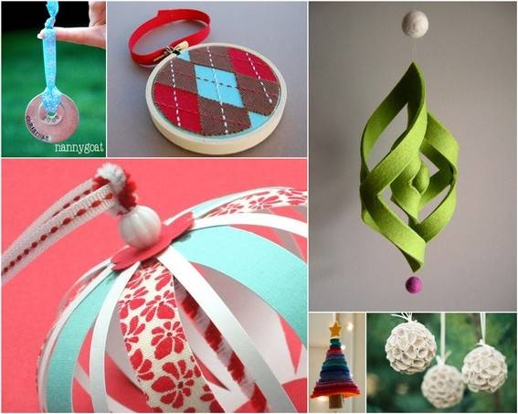 Decoupage decorazioni di natale fai da te decoupage for Christmas tree decorations you can make at home