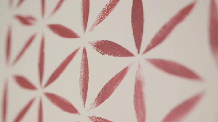 Stencil camera da letto decoupage decorare la camera da letto con gli stencil - Decorazioni fai da te camera da letto ...