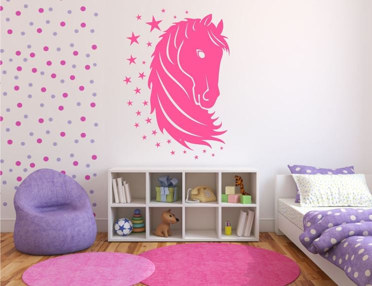 Stencil da parete - Decoupage - Come decorare le pareti con gli stencil