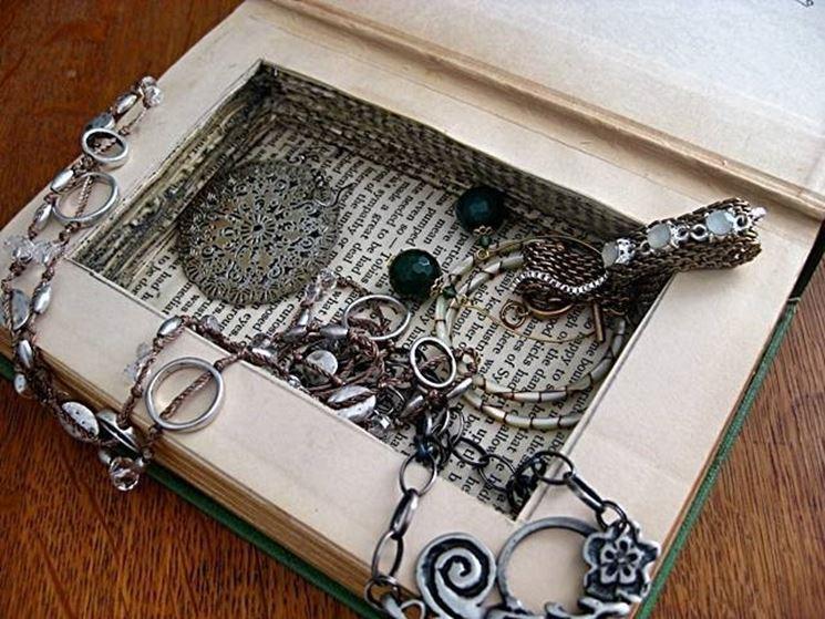 scatola porta gioielli
