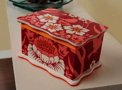 Una scatola che arreda decoupage for Far arreda