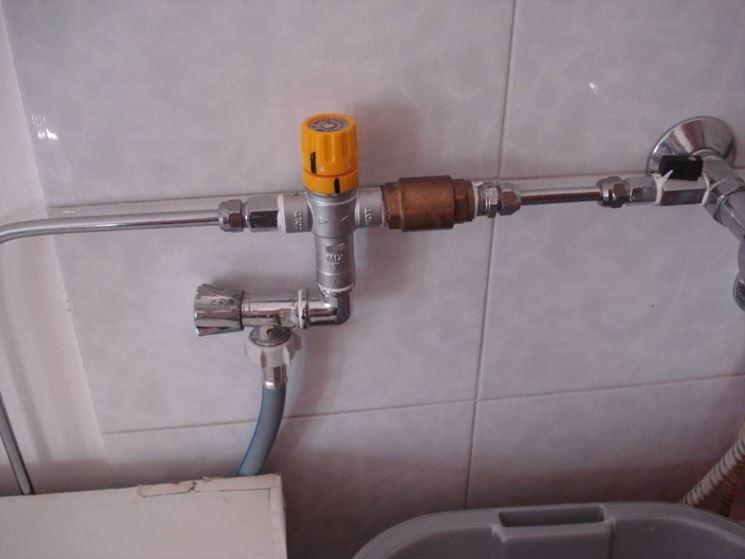 ingresso acqua lavatrici