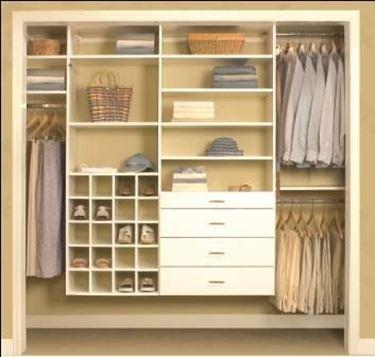 Armadio a muro fai da te legno realizza il tuo armadio - Armadio interno ...