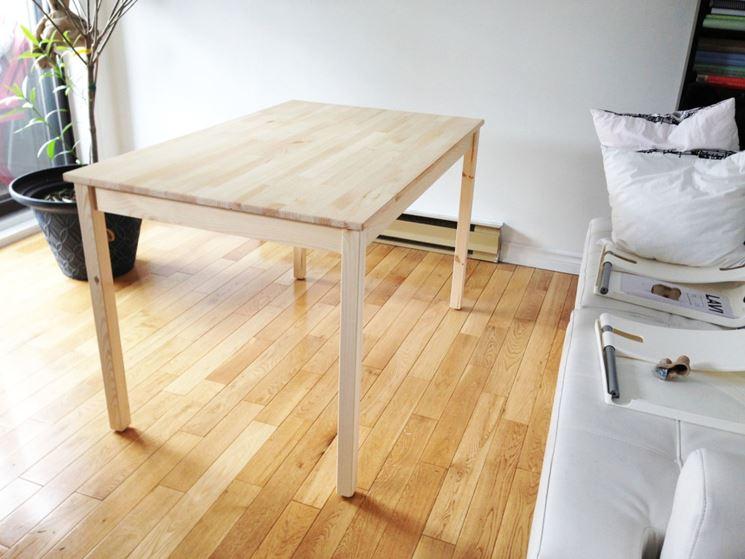 Creare con il legno creare un portafoto con legno - Costruire un tavolo allungabile ...