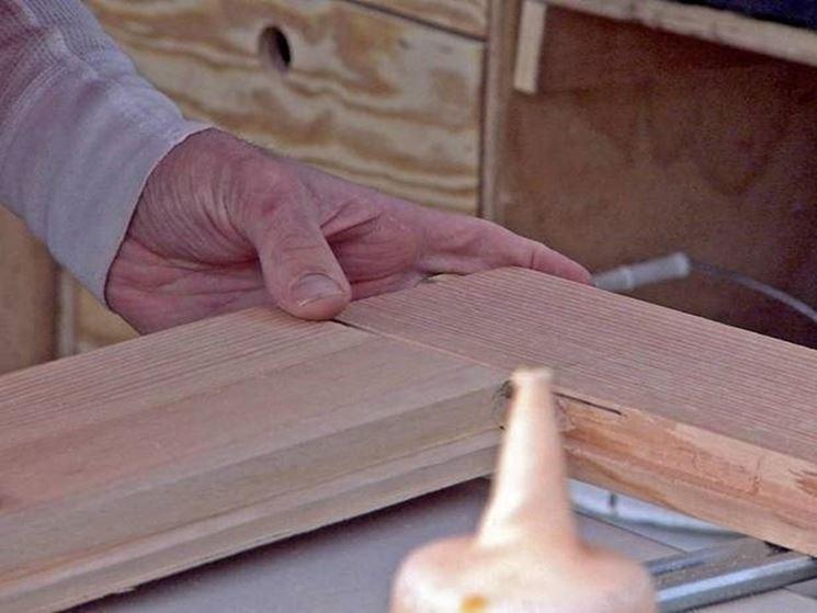costruire porta legno