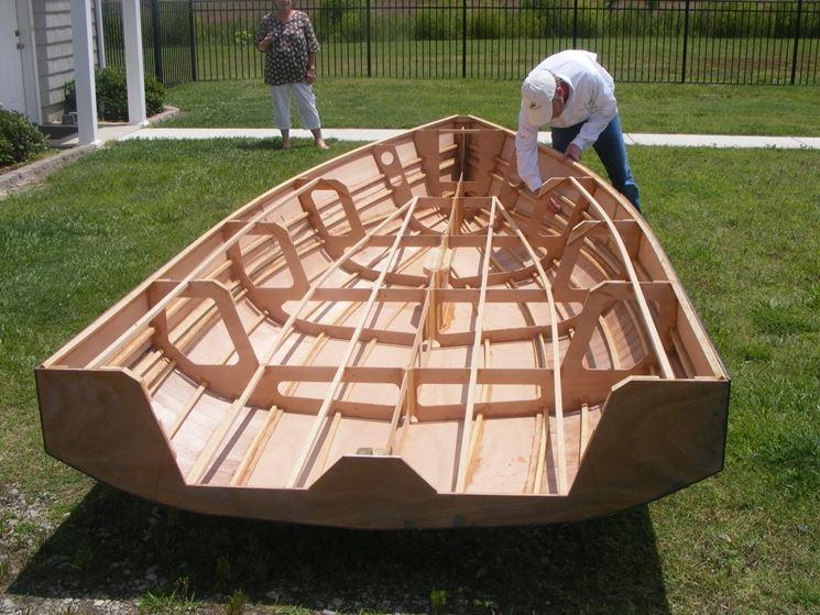 realizzazione barca con compensato