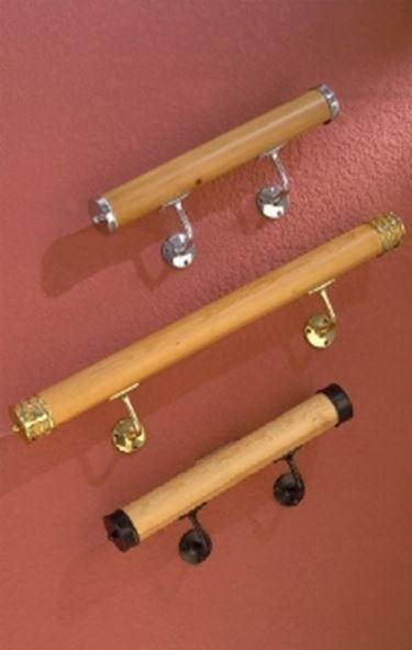 Corrimano in legno legno for Portacellulare da tavolo fai da te