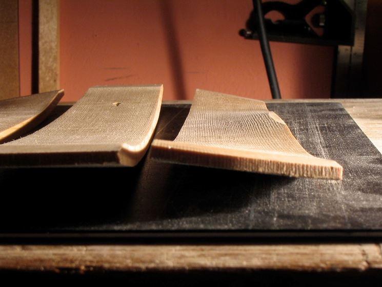 esempio di legno curvato