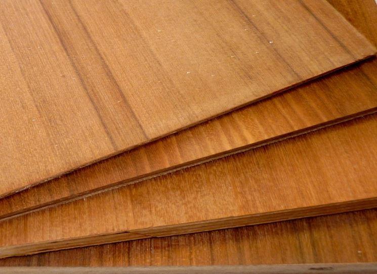 Compensato effetto legno