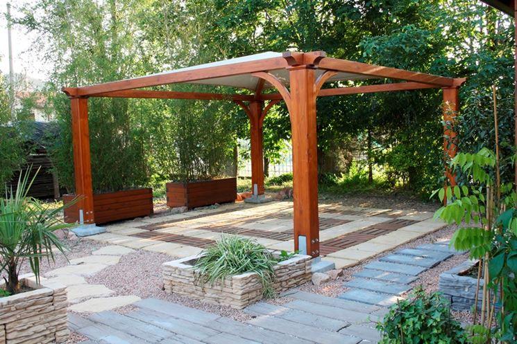 Gazebo in legno fai da te pannelli termoisolanti for Costruire un gazebo in ferro