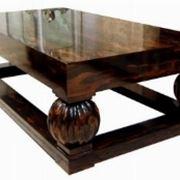 tavolino in legno d' ebano