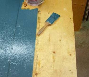 dipingere il legno multistrato