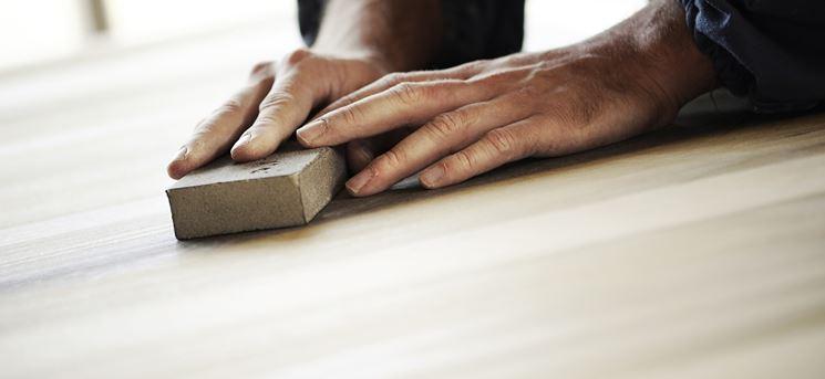 levigatura legno