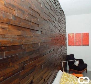 listelli di legno per pareti