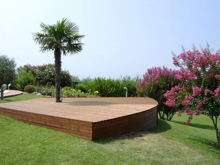 Piastrelle In Legno Florabest : Verande esterne in legno amazing coperture in legno per esterni