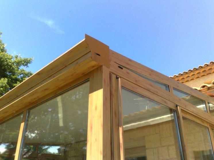 Veranda in legno legno come realizzare una veranda in legno - Verande da giardino in legno ...