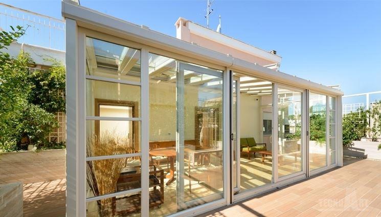 Veranda in legno legno come realizzare una veranda in for Costo materiale per costruire una casa