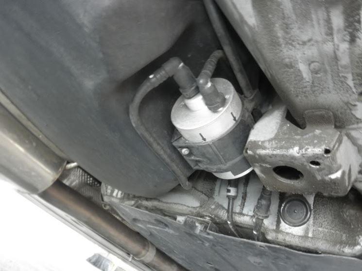 posizione filtro benzina
