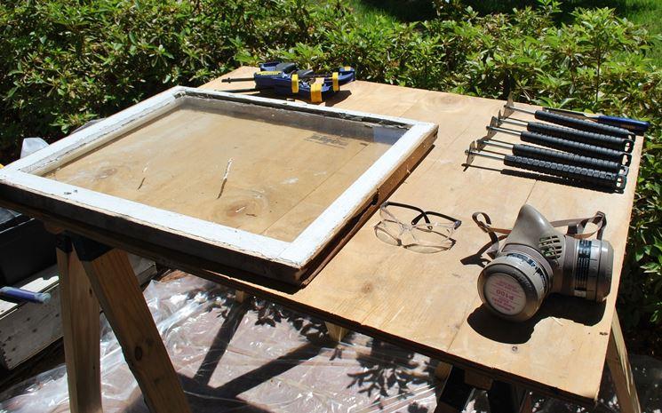 restauro finestra legno