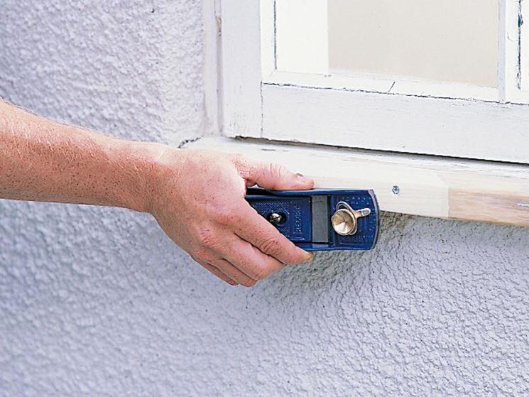 restaurare finestra in legno