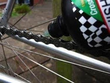 lubrificare bici