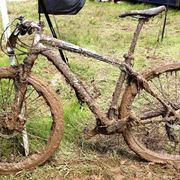 pulire bicicletta