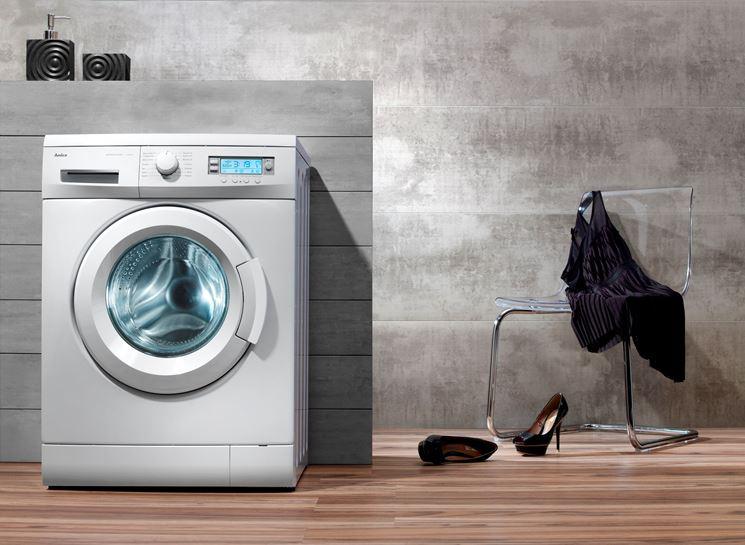 lavatrice e aceto