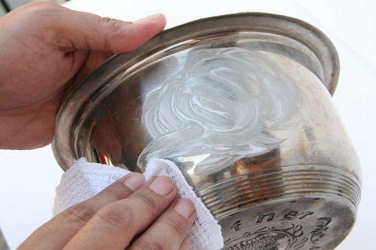 pulire argento