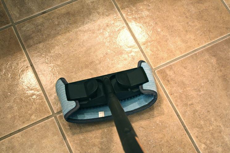 pulitore a vapore per piastrelle