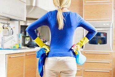 pulizia di finitura