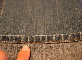 Come fare l'orlo ai jeans