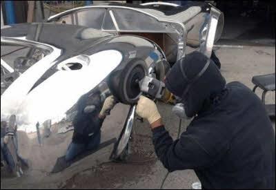 Lucidatura alluminio a specchio • RollerQUAD.it